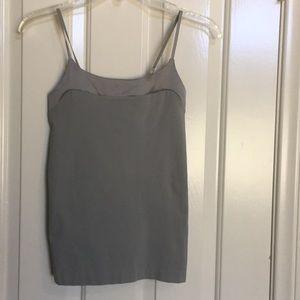 BANANA REPUBLIC gray top